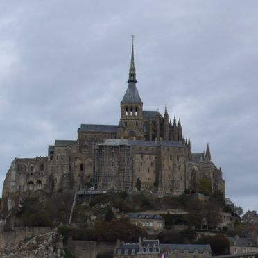 Le Mont-Saint-Michel en Normandie